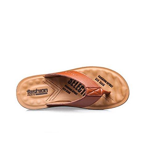 in Infradito uomoCasual Sandali antiscivolo Impermeabile Scarpe Melodycp da da estive bagnato uomo da 24 cm spiaggia 27 estivi da 5 pelle uomo Sandalo e Sq56w6xX