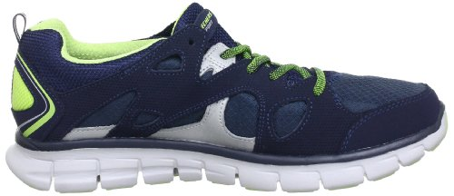 Donna nbsp;memory Blu Sneaker 11681 Sole nvlm Synergy Skechers blau wpXT5