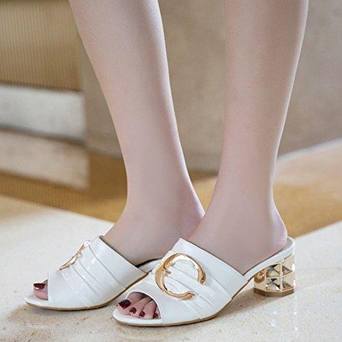 Donne bianco Mode Zanpa Heels Mules Wpx6Ww0