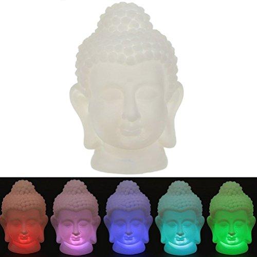 White Buddha Lamp - Changes ()