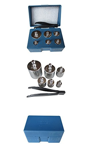 MAGIKON-Precision-Steel-Scale-Calibration-Weight-Kit-M2-Class-205-Gram