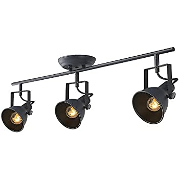 Laluz adjustable track lighting 3 light ceiling light amazon laluz adjustable track lighting 3 light ceiling light mozeypictures Choice Image
