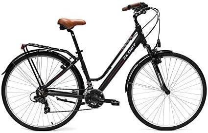 CLOOT Bicicleta Hibrida Adventure 7.2 con Shimano 21V y Suspension Delantera: Amazon.es: Deportes y aire libre