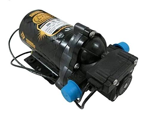 Shurflo 8075-142-313 HFO 24VAC/VDC Maximum 100GPD 3/8 inch JG Gold Series RO Booster Pump ()
