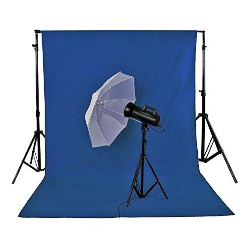 10x20' Muslin Background (Neewer 3 x 6M/ 10 x 20ft Photo Studio 100% Pure Muslin Collapsible Backdrop BackgroundBLUE)