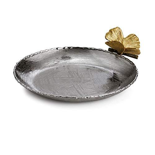 (Michael Aram Butterfly Ginkgo Round Trinket Tray)