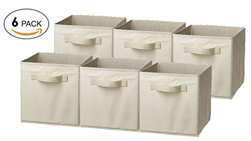 canvas boxes for storage - 1
