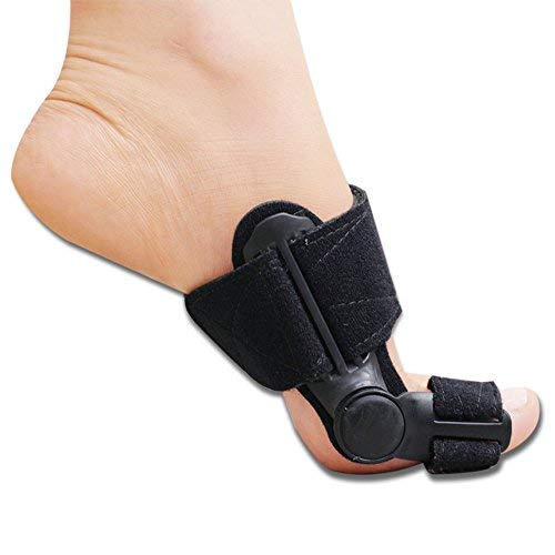 Ortho Pauher Bunion Splint for Bunion Treatment - Hallux Valgus and Bunion Pain Relief (1 Pair)