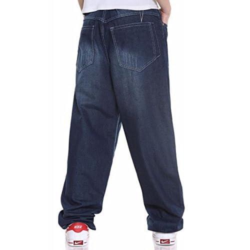 Aishang Mens Skateboard Jeans Hip-hop Baggy Pants Denim Assorted