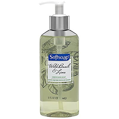 Softsoap Liquid Hand Soap, Wild Basil and Lime - 8 fluid ounce by Colgate-Palmolive Co
