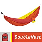 ENO Eagles Nest Outfitters - DoubleNest Hammock, Portable Hammock for Two, Sunshine