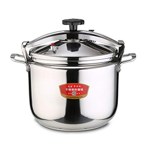 Pressure Cooker Stew Pot #304 stainless steel Extra-thick Commercial/Home Use Gas Induction General Purpose (20L) 20L  B07ST3JGKJ