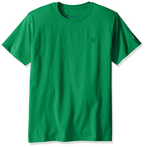 - Champion Men's Classic Jersey T-Shirt, Kelly Green, Medium