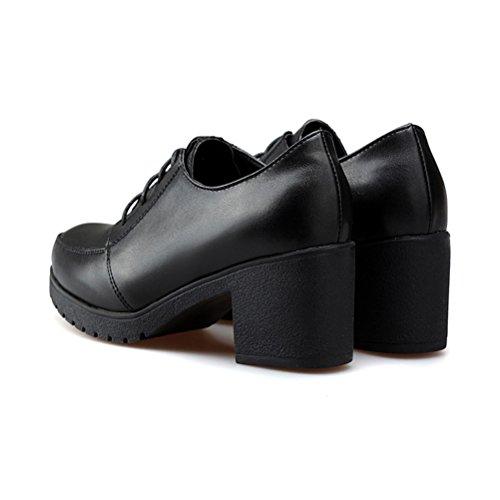 Mujer Negro Con Sandalias Cuña Nago La Ivq7ZO