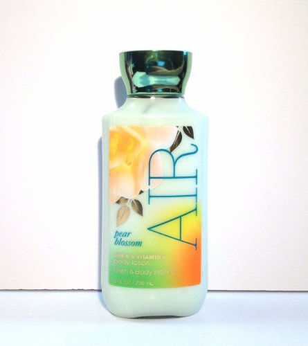 Bath and Body Works Pear Blossom Air Shea and Vitamin E Body Lotion 8 Ounce (Victoria Secret And Bath And Body Works)
