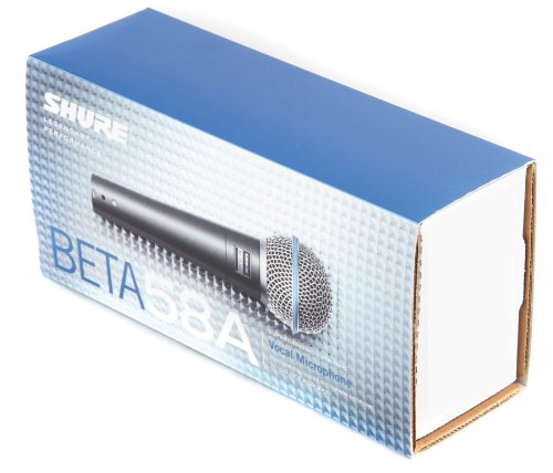 042406054720 - Shure BETA 58A Supercardioid Dynamic Microphone with High Output Neodymium Element for Vocal/Instrument Applications carousel main 4