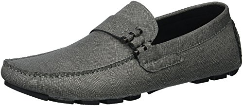 Unlisted by Kenneth Cole Men's Hope Driver C Driving Style Loafer, Dark Grey, 10 M US