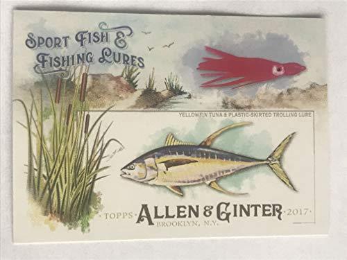 2017 Allen & Ginter Sport Fish and Fishing Lures #SFL16 Yellowfin Tuna NM/M (Near Mint/Mint)