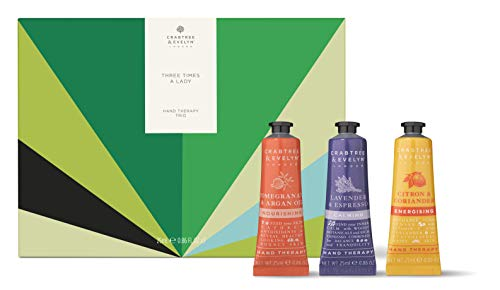 Crabtree & Evelyn Three Times A Lady Hand Therapy Trio, 1 Count