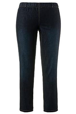 Ulla Popken Women's Plus Size Jeans Pants Color Fade Denim Jeggings 698054