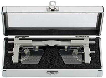 ZUQIEE medidor de Distancia Ajustable en Altura Pupilometer PD & PH alumno Herramienta óptica Regla Meter Lentes de Distancia oftálmico del Instrumento Prueba de la Vista