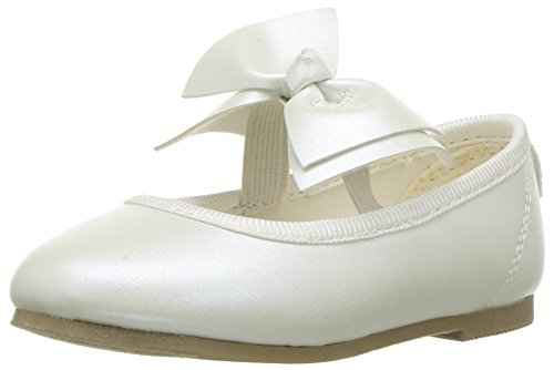 Carter's Anora Girl's Ballet Flat, Ivory 10 M US -