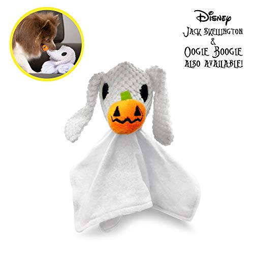 Hyper Pet Disney's The Nightmare Before Christmas Zero Blankie Buddie Plush Dog Toy with Squeaker (Toys Christmas Large Dog)
