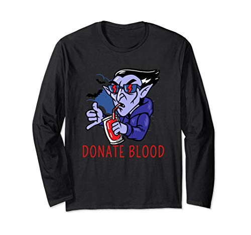 Donate Blood Dracula Vampire Halloween Costume Gift -