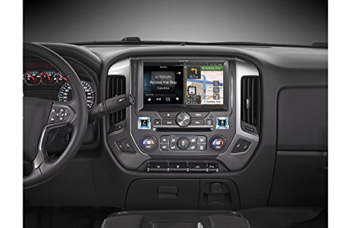 Alpine Electronics (Alpine Electronics X110-SLV In-Dash Restyle System for Chevrolet Silverado 2014-Up, 10