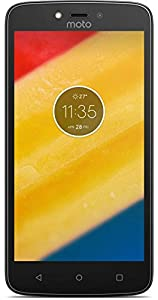 Motorola Moto C Plus XT1724 4G LTE 16GB Dual SIM 5.0 LTE Factory Unlocked 8MP (black)