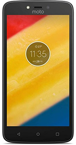 Motorola Moto C Plus XT1724 4G LTE 16GB Dual SIM 5.0 LTE Factory Unlocked 8MP (black) Dual Sim Unlocked Phone