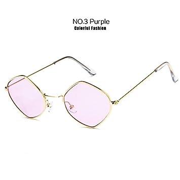 DXXHMJY Gafas de Sol Gafas de Sol pequeñas Mujer Hombre Moda ...
