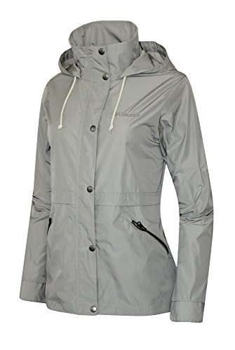 Columbia Women's Base Camp Short Soft Shell Spring / Fall Hooded Jacket (LARGE)