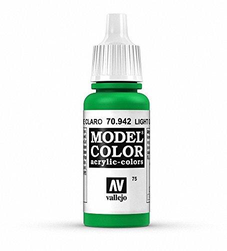Vallejo Light Green Paint, 17ml -