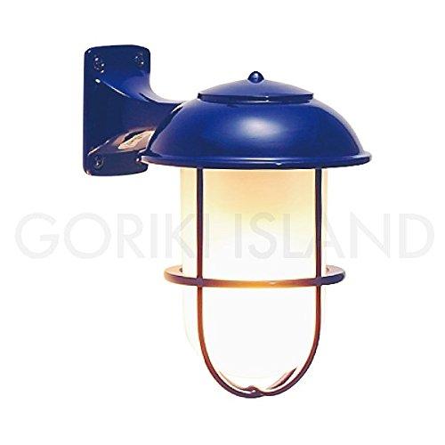 照明 エクステリアライトLED仕様 ネイビー(青) BR5000 NV FR LE B019GOQD8I 23004 BR5000 青色塗装くもりガラス BR5000 青色塗装くもりガラス