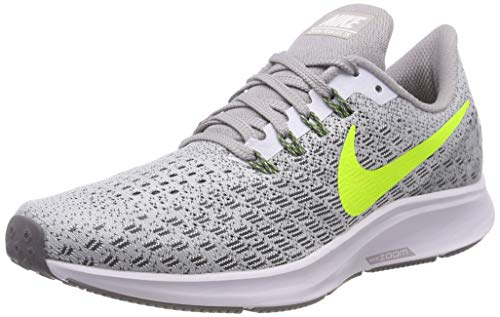 NIKE Air Zoom Pegasus 35, Scarpe Running Uomo Multicolore (White/Volt/Gunsmoke/Atmosphere Grey 101)