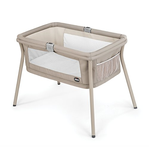 Chicco LullaGo Portable Bassinet, Sand ()