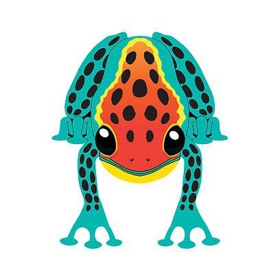 MidiKites Tree Frog Fun to fly! Easy to assemble and very stable. ()