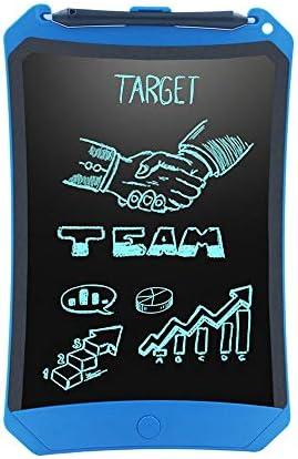 Dmxiezib 8,5-Zoll-LCD Kinder elektronisches Reißbrett LCD handgeschriebener Entwurf Entwurf Früherziehung tragbares Reißbrett Kind Geschenk Memo Message Schwarzes Brett Flüssigkristall