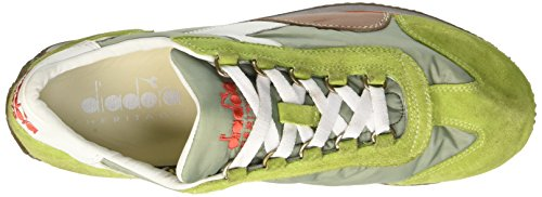 Gymnastique lime Adulte Verde Chaussures De Punch white Mixte Waxed Equipe Diadora Nyl Sw wUgOxY