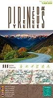 Pirineos Mapa De Carreteras. Escala 1:4000.000.