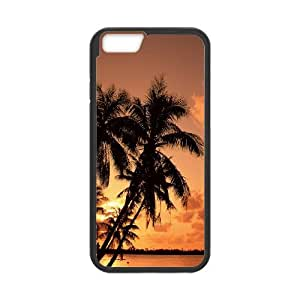 Palm Trees iPhone 6 Plus 5.5 Inch Cell Phone Case Black DIY TOY xxy002_897635
