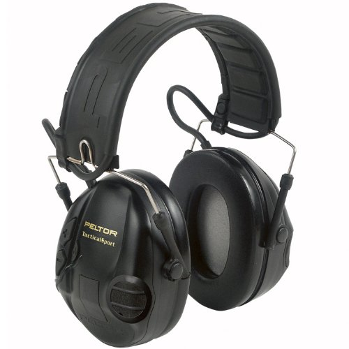 3M Peltor Tactical Sport Hearing Protector, MP3 Compatible, Outdoor Stuffs