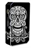 Skin Decal Vinyl Wrap for Pioneer 4 You ipv3 LI 165w watt Vape Mod Box / Tribal Skull