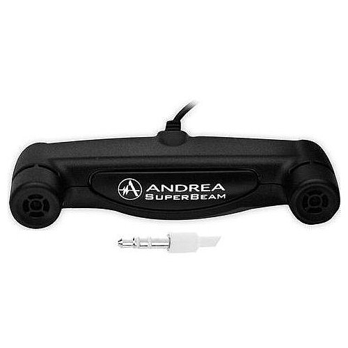 Andrea C1-1019800-1 Model ARRAY-2S SoundMAX Superbeam Array Microphone with 3.5 mm Connector, Two Unidirectional Microphones with Individual Channels to a Stereo Output