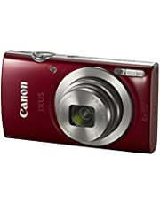 Canon IXUS 185 Digital Camera, Red