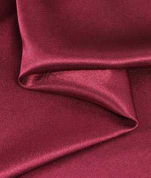 red crepe fabric - 2