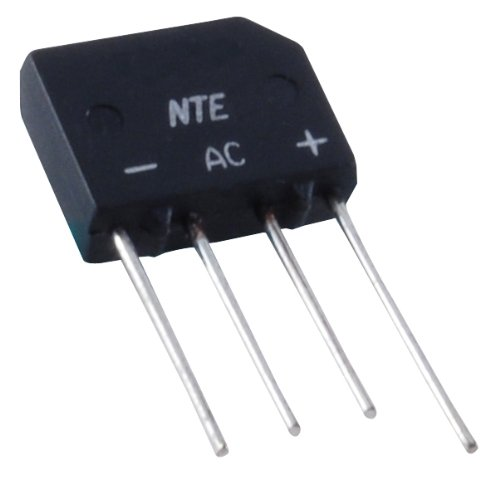 1000V NTE Electronics NTE170 NTE Electronics NTE170 Single Phase Bridge Rectifier Diode SIP 2 Amp