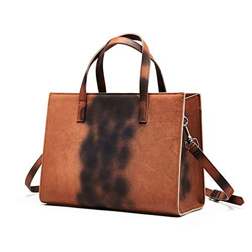 Viaje Brown2 Damas Para Brown1 Cuero Bolso Pollusui Mujer Trabajo Pequeño Boda Bandolera De color nTxAFS