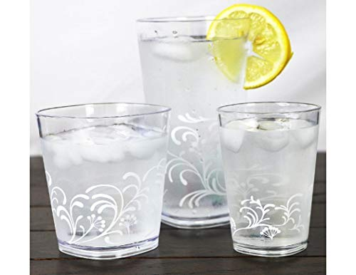 4PCS Boutique Cherish Acrylic Drinkware Beverage Glasses 19-oz Tumblers New kslick from Unknown